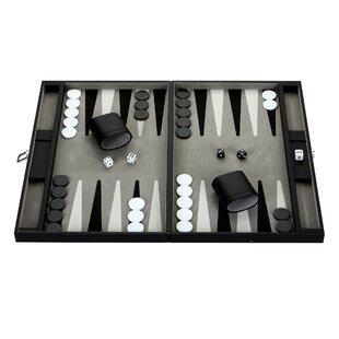 Leather Backgammon Set | Wayfair
