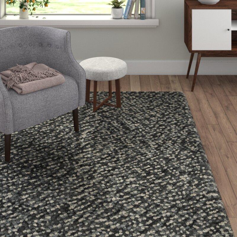 Scanmod Design Handgeknupfter Shaggy Teppich Montecito Aus Wolle In