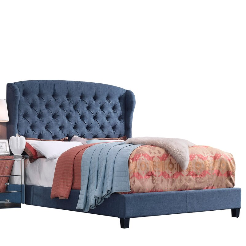 Felisa Upholstered Panel Bed King