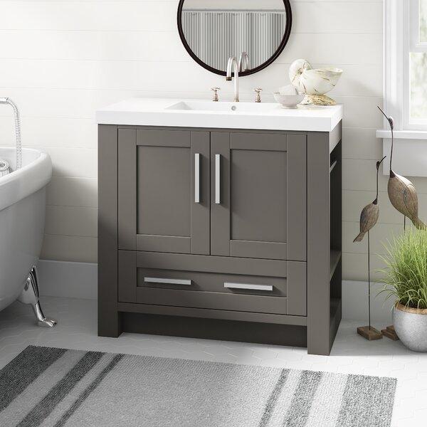 Ebern Designs Cedeno 35 Single Bathroom Vanity Set Reviews Wayfair