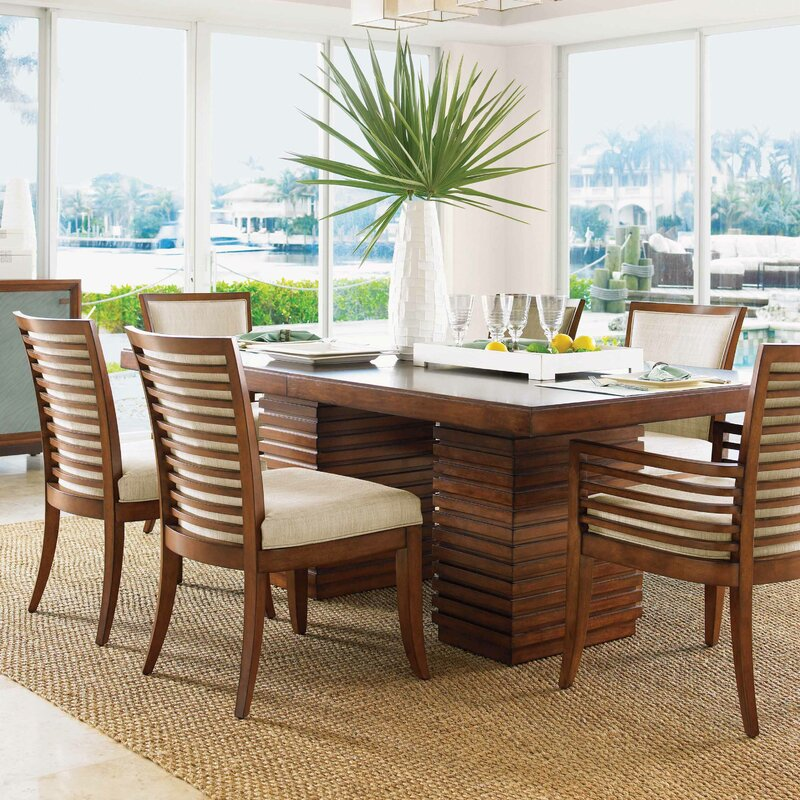 Tommy Bahama Home Ocean Club 7 Piece Dining Set Reviews