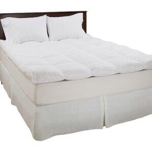 jessica 233 thread count down mattress topper