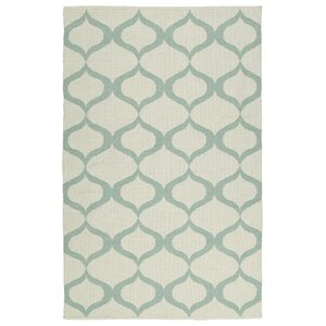Dominic Cream/Mint Indoor/Outdoor Area Rug