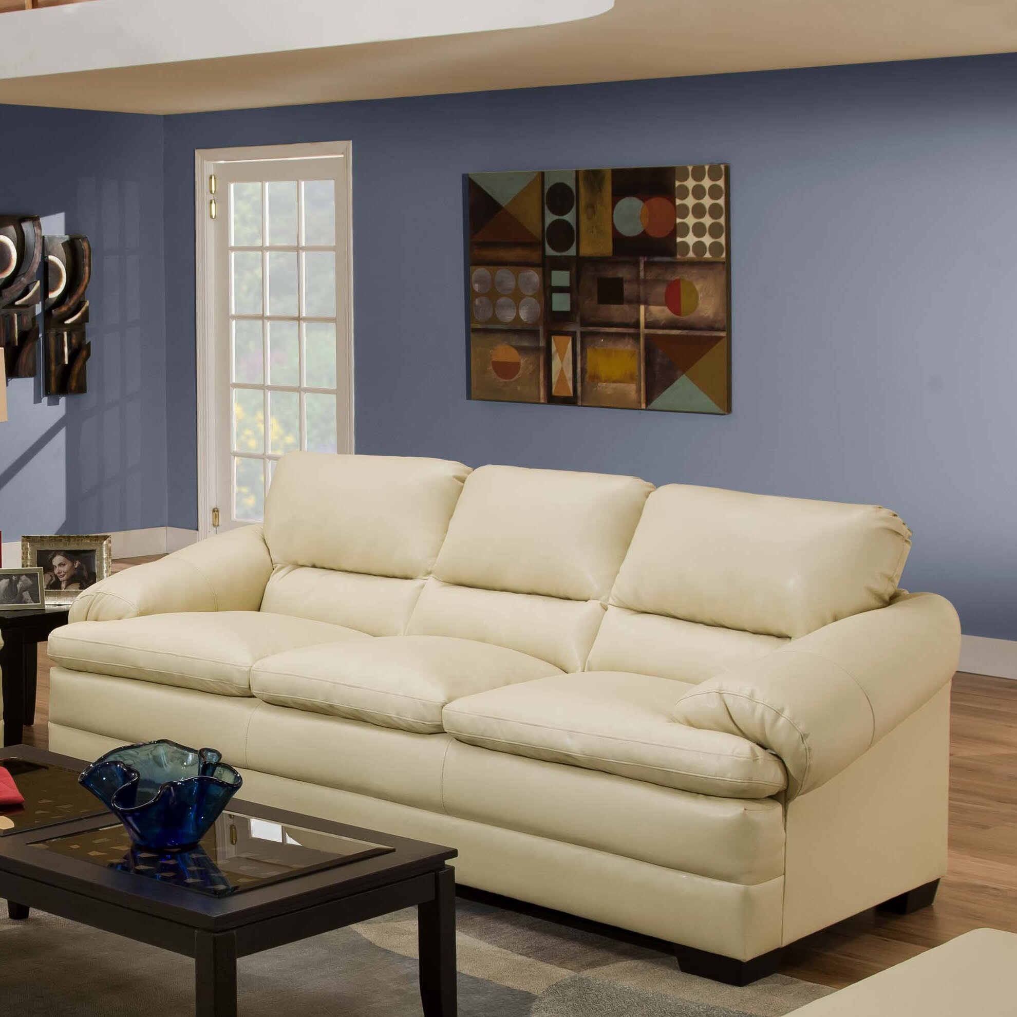 Red Barrel Studio Simmons Upholstery Reynolds Sofa & Reviews | Wayfair
