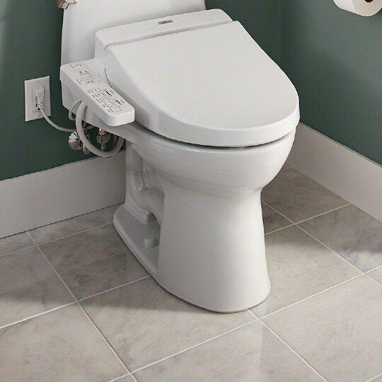 Toto Washlet C100 Toilet Seat Bidet Amp Reviews Wayfair
