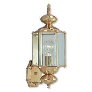 Brussels 1-Light Outdoor Sconce