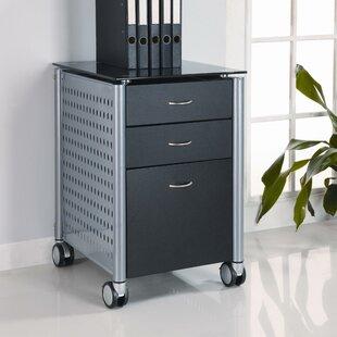 Irving 3 Drawer Mobile Vertical Filing Cabinet