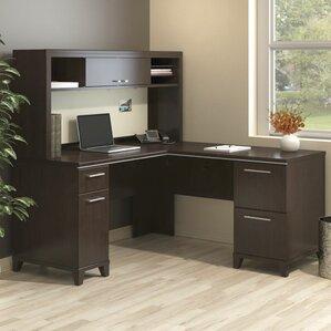 enterprise lshape executive desk