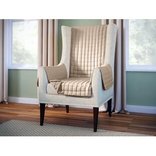 2 piece wing chair slipcover wayfair