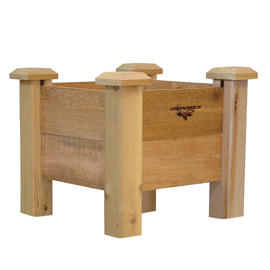 Gronomics Cedar Planter Box Wayfair