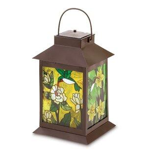 Elegant Hummingbird Solar Lantern