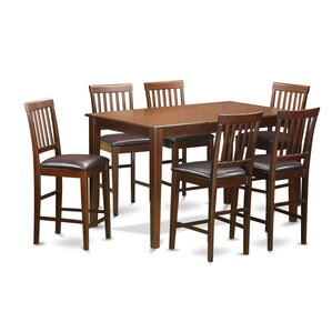 7 Piece Counter Height Dining Set by Wooden Impo..