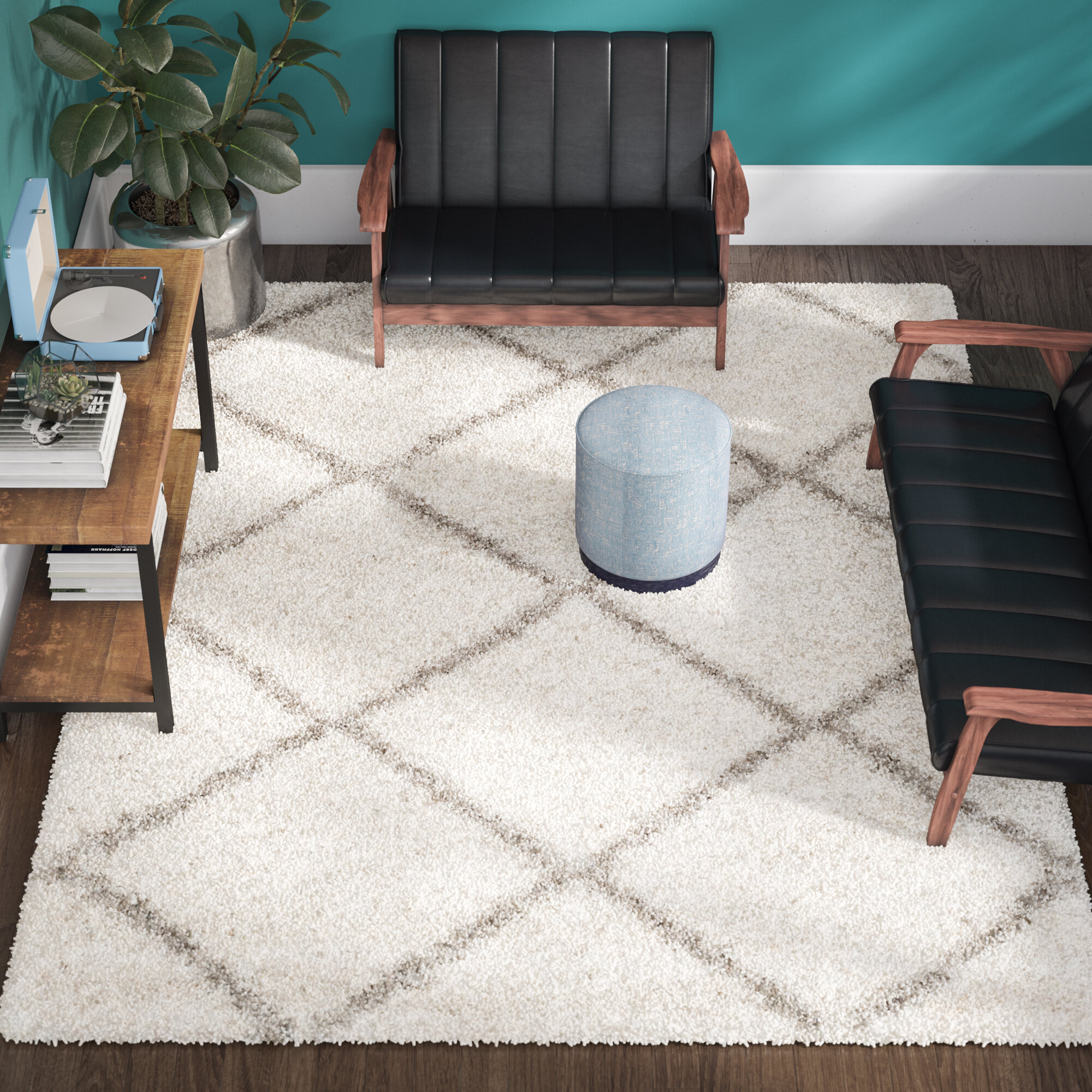 heavenly flokati nicole gray area this collection carpet designer itm special s solid the as shag rugs miller by ivory are comfortable nmhvs nm of clothing and rug line