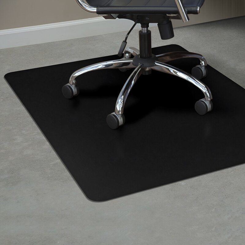 Delicieux TrendSetter Rectangle Hard Floors Straight Edge Chair Mat