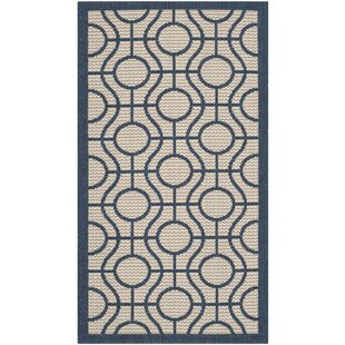 Compare prices Jefferson Place Outdoor Area Rug ByWrought Studio