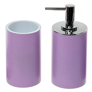 Bathroom Accessories Purple purple bathroom accessories you'll love | wayfair