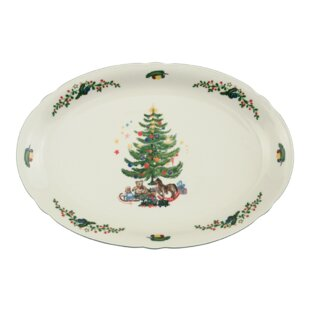 marieluise ivory christmas serving platter