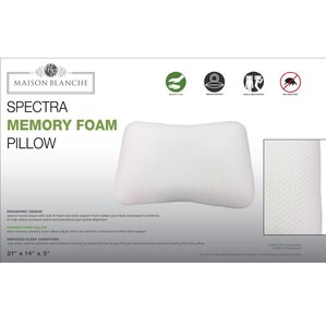Spectra Memory Foam Pillow by Alwyn Home