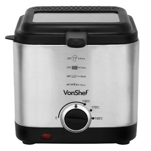 1.5 L Compact Deep Fat Fryer by VonShef