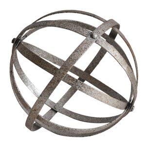 Bell Gardens Metal Folding Orb Sculpture
