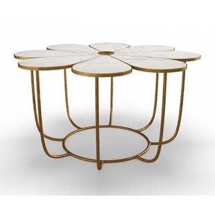 Flower Coffee Table.Marble Granite Top Coffee Tables You Ll Love In 2019 Wayfair Ca