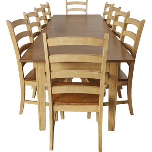 Huerfano Valley 12 Piece Dining Set by Loon Peak