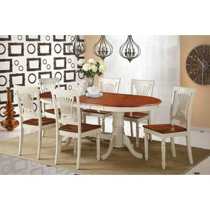 Bateson Solid Wood Extendable Dining Table by Darby Home Co
