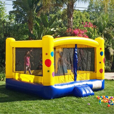jr kiddo balloon party bounce house - Inflatable Bounce House