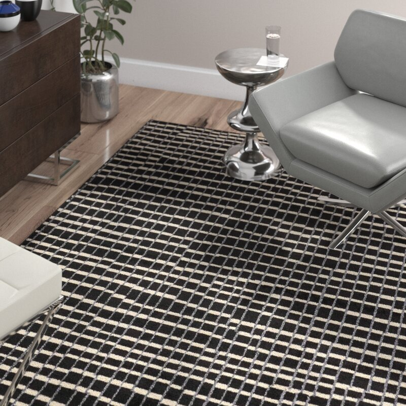Wade Logan Alcanza Black Area Rug Amp Reviews Wayfair