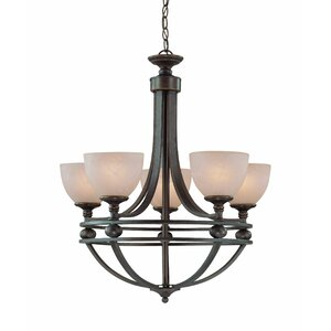 Moseley 5-Light Shaded Chandelier