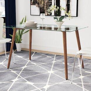 Marvelous Edgardo Glass Dining Table