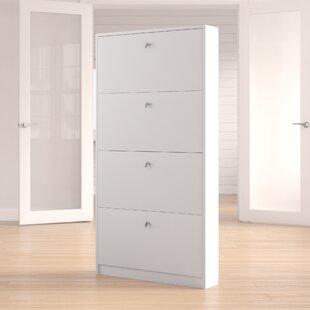 Ridgley 10 Pair Shoe Storage Cabinet
