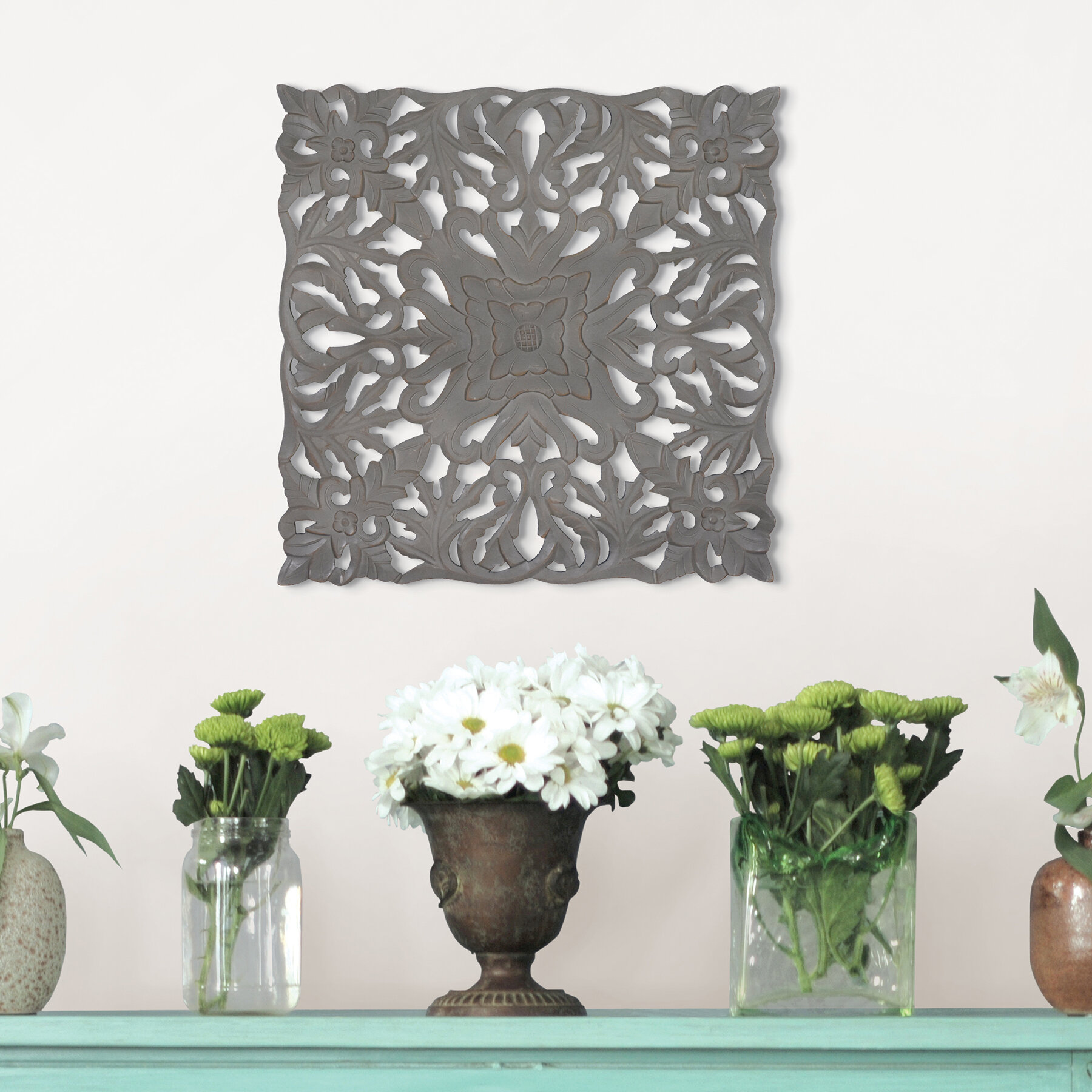 Fetco Home Decor Seth Decorative Ledge Wall Shelf u0026 Reviews | Wayfair