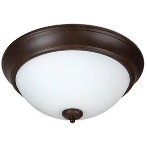 Bathroom Lighting Flush Mount flush mount lighting you'll love | wayfair