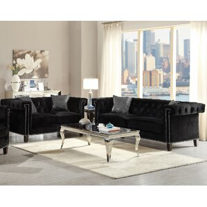 Gloversville 2 Piece Living Room Set b..