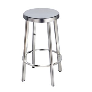 Husby Round Seat Bar Stool (Set of 2) by ..