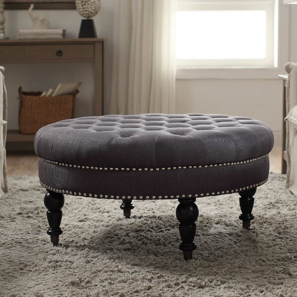 - Darby Home Co Balamine Round Tufted Ottoman & Reviews Wayfair