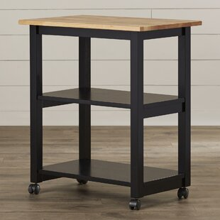 Rolen Kitchen Cart With Butcher Block Top Amazing