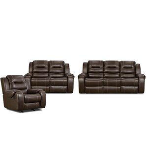 Clark 3 Piece Living Room Set by Cambridge