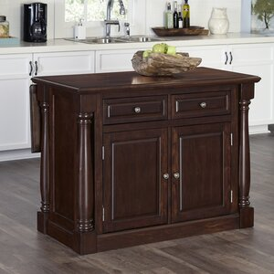 Giulia Wood Kitchen Island
