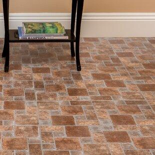 Vinyl flooring youll love wayfair tivoli brick pavers 12 x 12 x 12mm luxury vinyl tile ppazfo