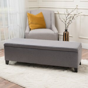 Captivating Schmit Upholstered Storage Bench