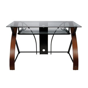 Glass Desks You Ll Love Wayfair