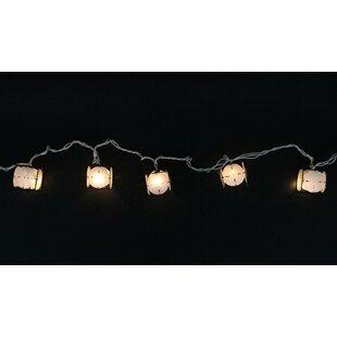 Outdoor patio lights string wayfair lantern party patio light string aloadofball Choice Image