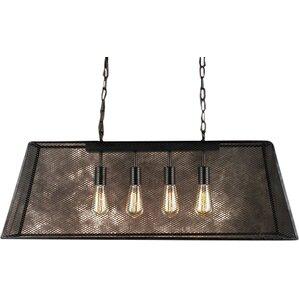 Nice Edison Lemuel 4 Light Pool Table Light