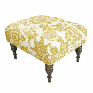 canary upholstered ottoman - Upholstered Ottoman