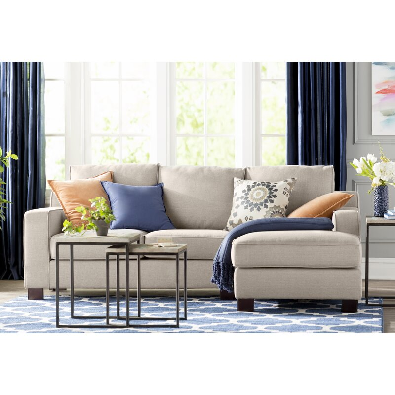 Laurel Foundry Modern Farmhouse Huckaby Blaxlands Sectional ... on