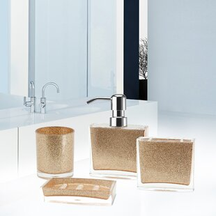 Gold Bathroom Accessories Youll Love Wayfair