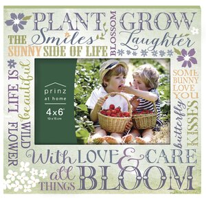 'Garden' Paper Picture Frame