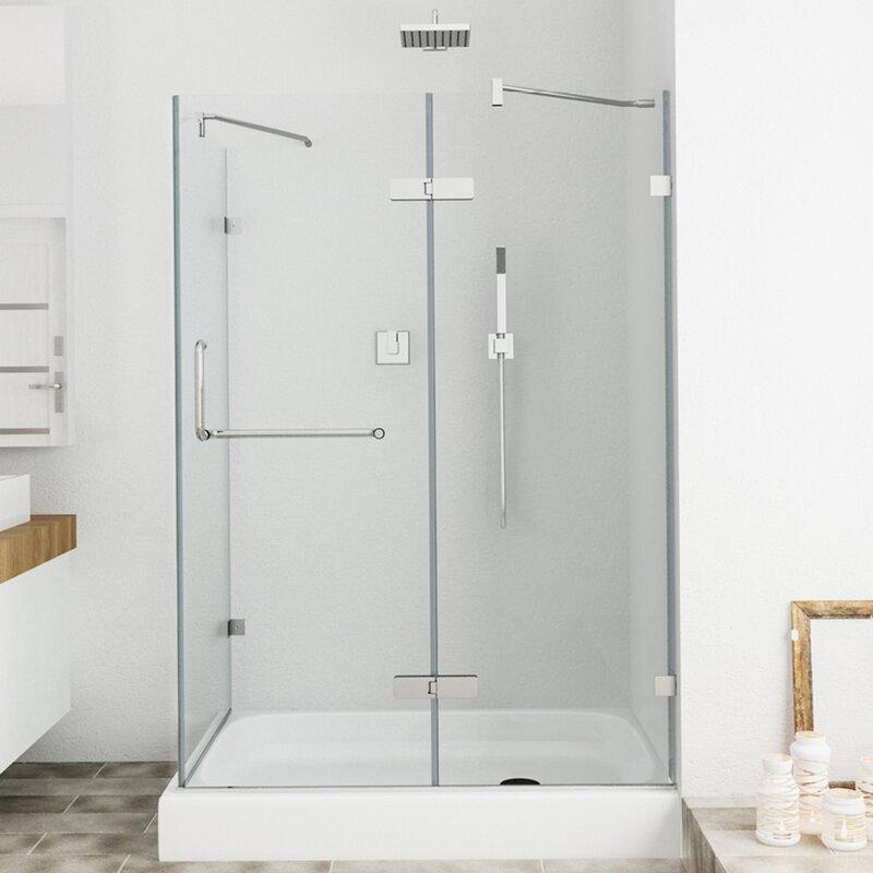 Comfortable D Shaped Shower Cubicles Ideas - Bathroom with Bathtub ...